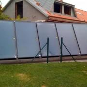 Paneles solares para calentamiento de piscinas
