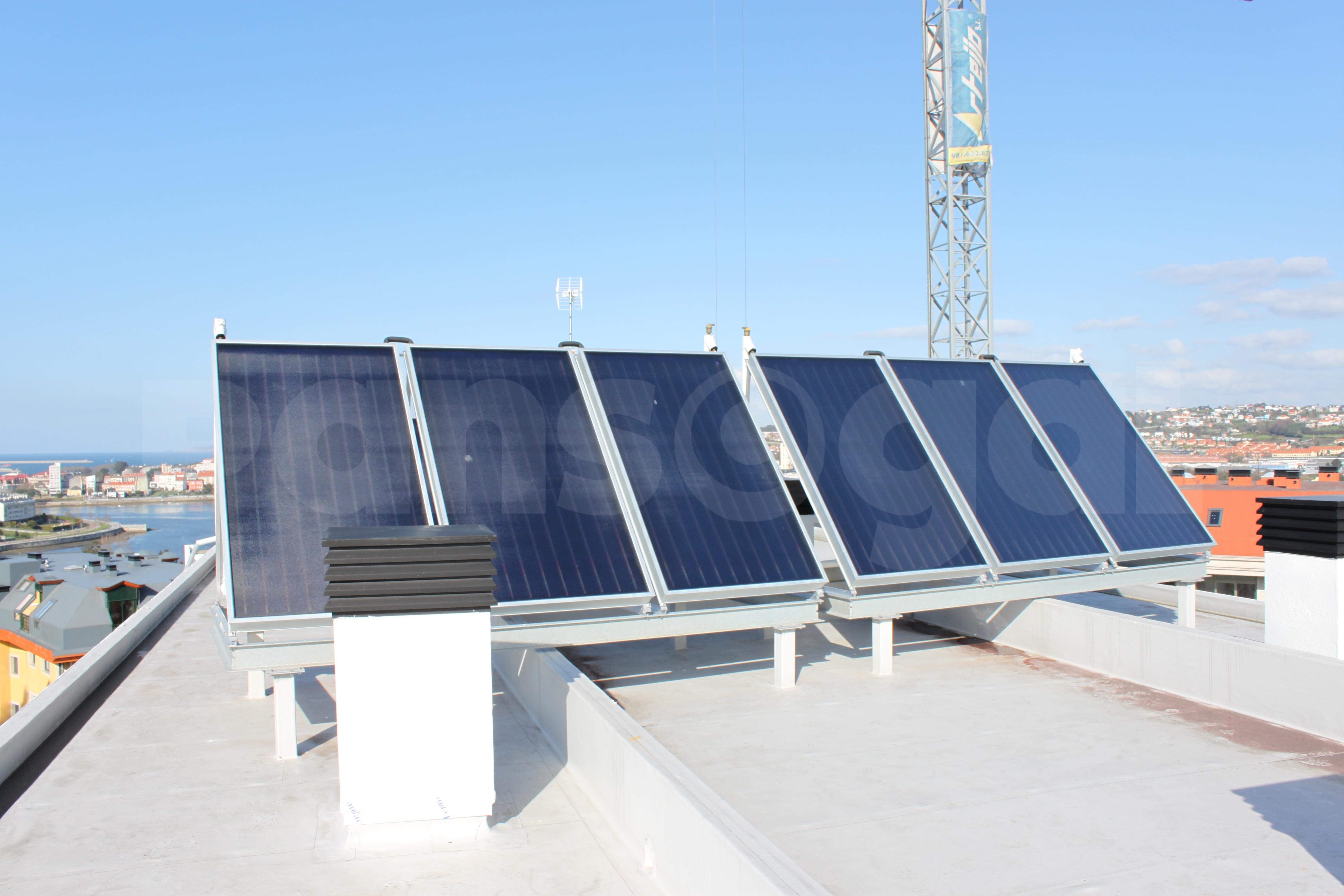 paneles solares para calentamiento de piscinas pansogal