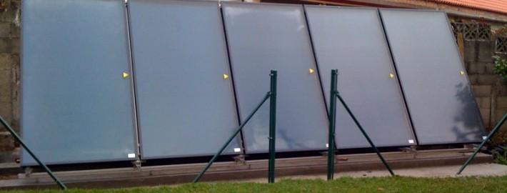 Consumo de máquina para calentar piscina por m3 en Galicia