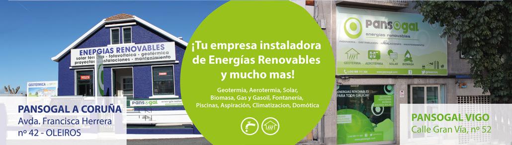 Instaladores de calefacción en Galicia con energías renovables
