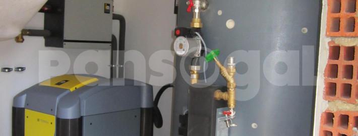 Instalación de geotermia y aerotermia en casas pasivas en Galicia