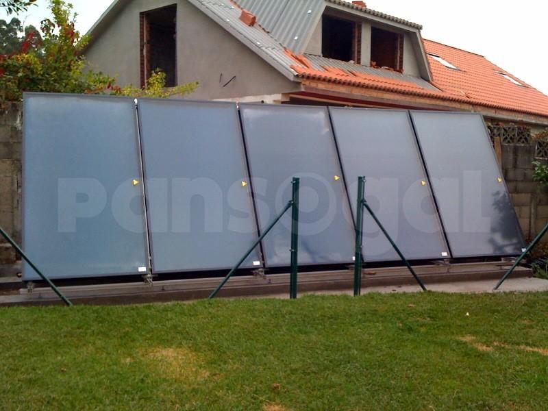 Placas solares precios para una casa en galicia for Placas solares precios