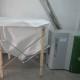 Instalación de la caldera de biomasa