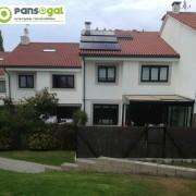 Instalación aerotérmica unida a instalación solar fotovoltaica
