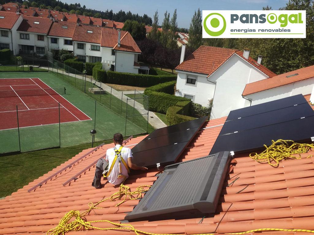 Instalación fotovoltaica en vivienda unifamiliar - Pansogal