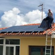 paneles fotovoltaicos cubierta