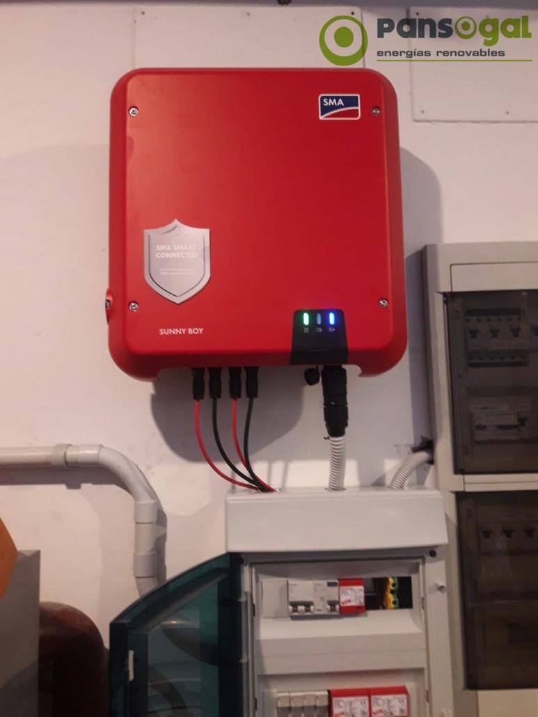 Proyecto de instalación fotovoltaica para vivienda unifamiliar en Vigo - Pansogal