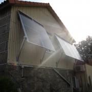 fotovoltaica en fachada